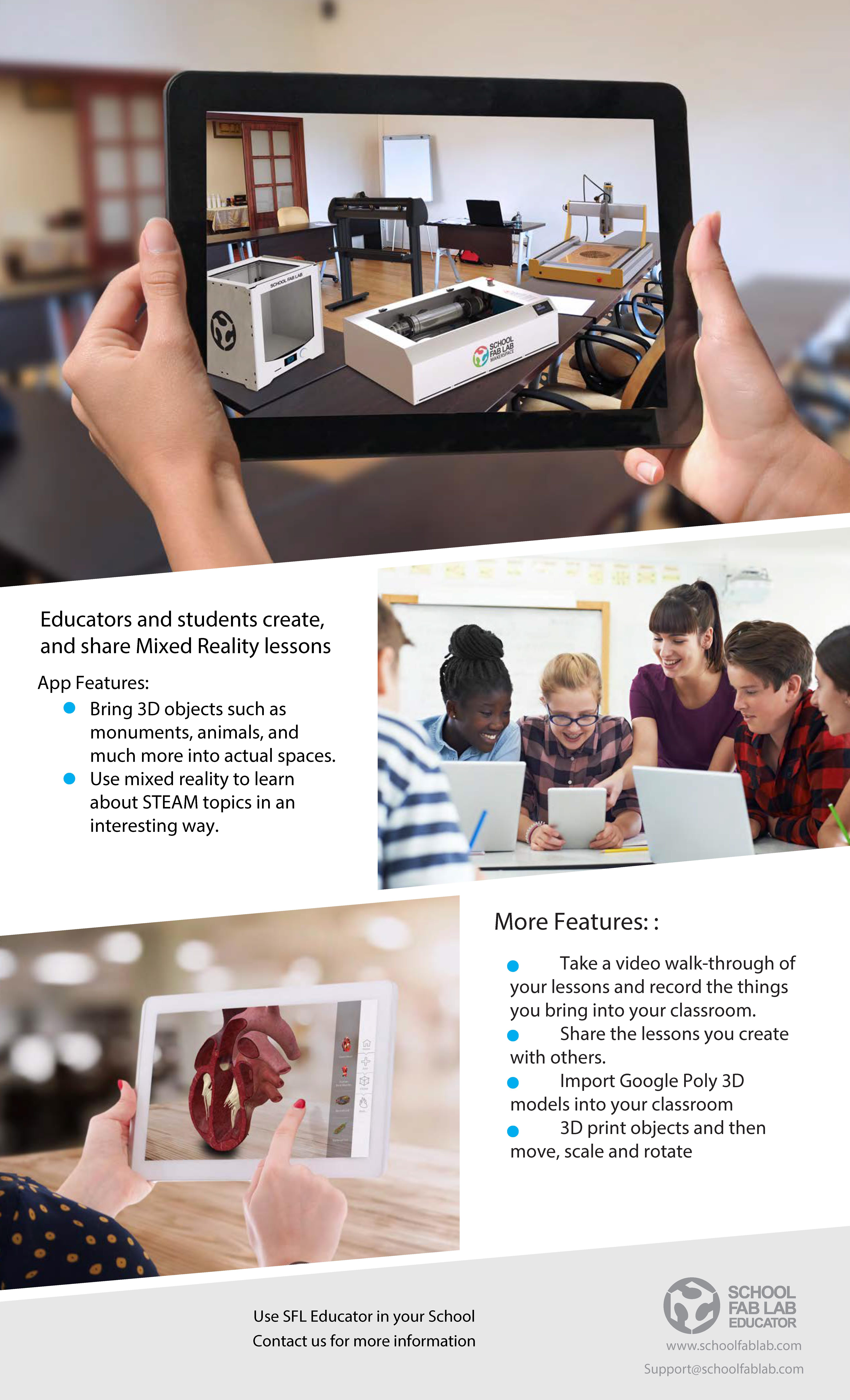 School Fab Lab Educator App